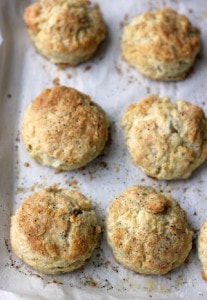 Freeze and bake black pepper and sage buttermilk biscuits | Thanksgiving sides round-up