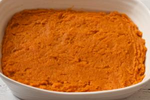 Bourbon sweet potato mix