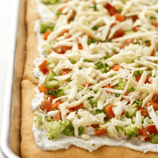 Easy vegetable squares