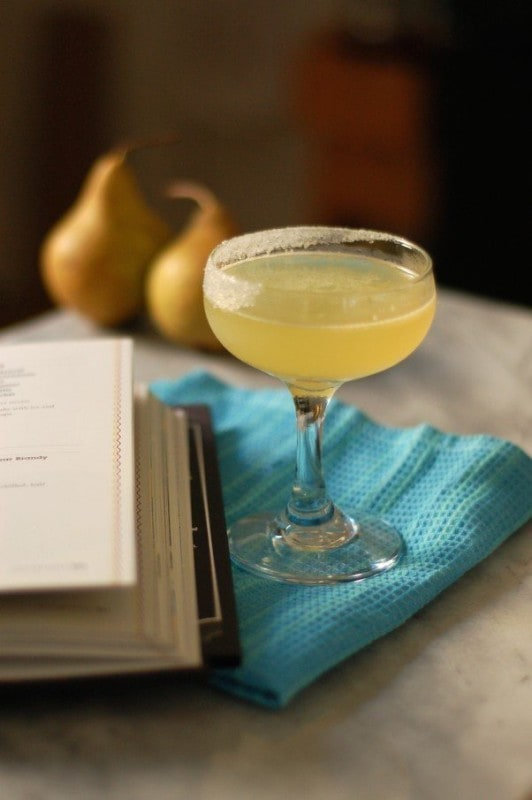 Pear brandy cocktail - Blossom to Stem
