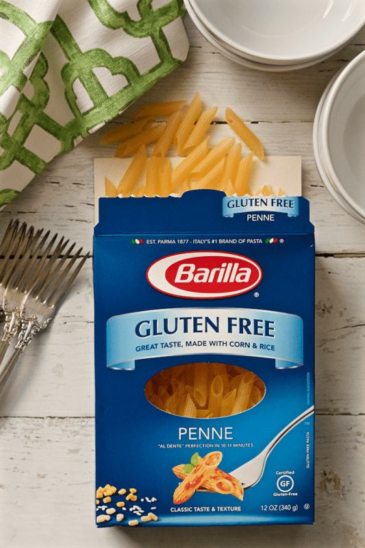 Barilla gluten-free pasta - tastes just like regular pasta!