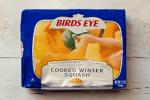 Frozen winter squash