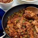 Skillet salsa chicken