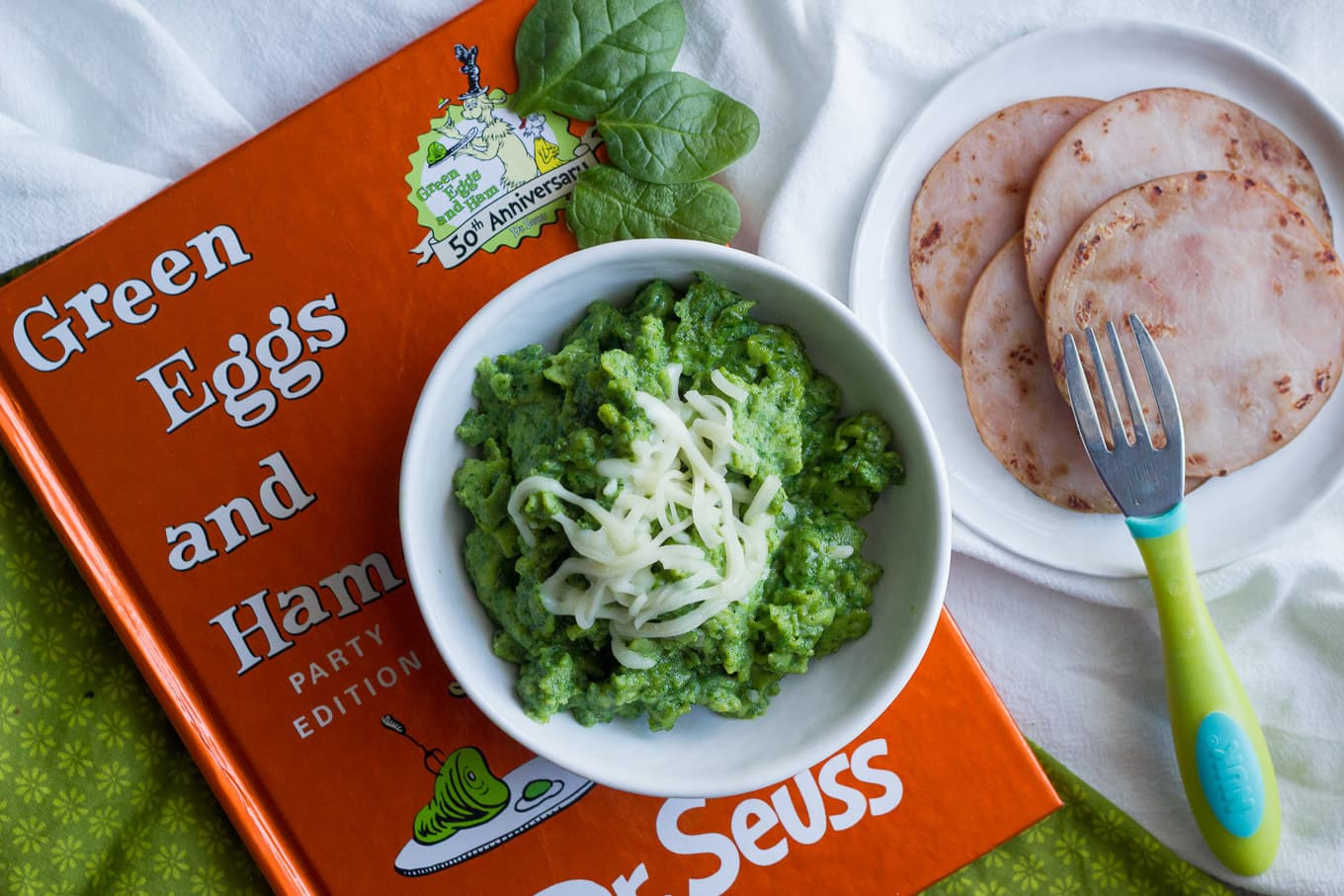 Green eggs and ham, 2 ways - Family Food on the Table