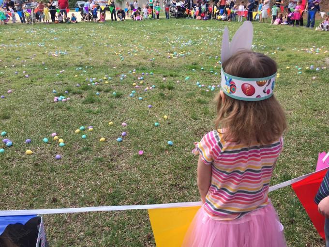 M Easter egg hunt