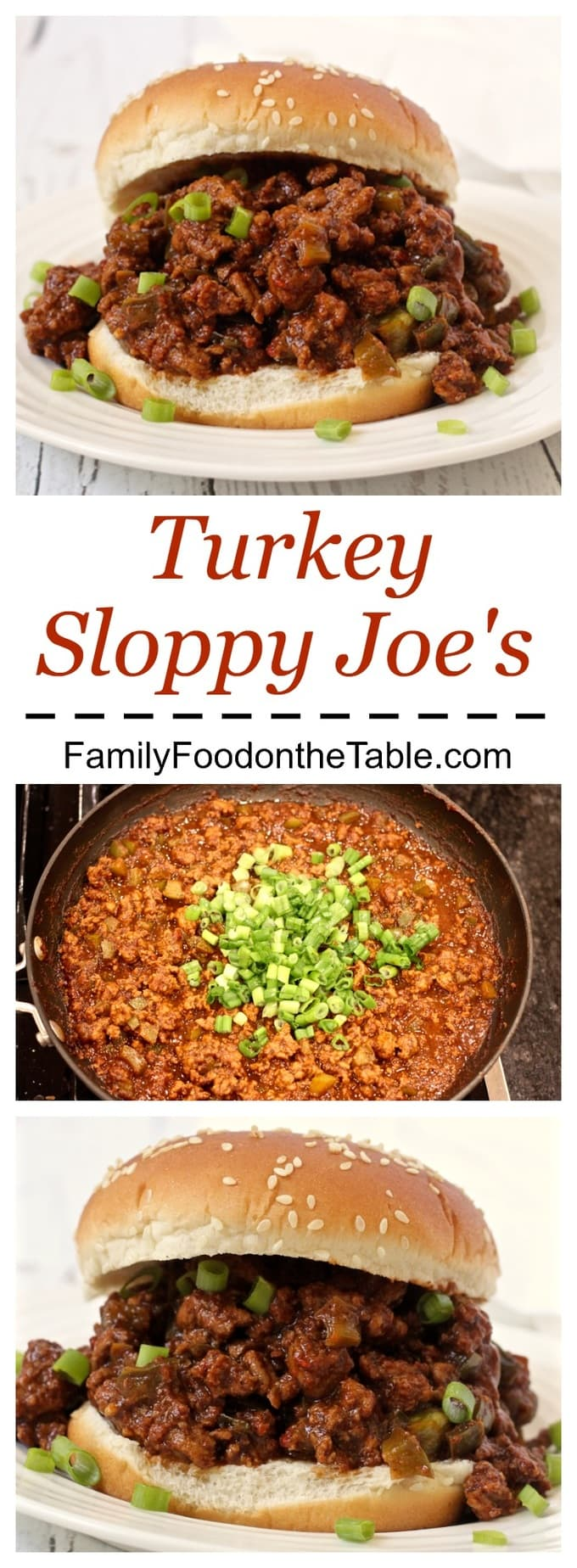 You can make them spicy or not, but these turkey sloppy Joe's will be a family favorite!