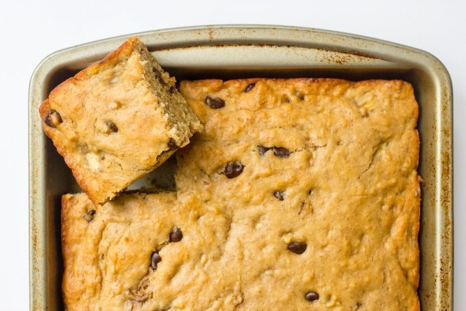 ... chocolate chip snack cake to have ready-to-go breakfasts and snacks on