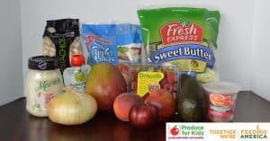 Publix products in Produce for Kids campaign