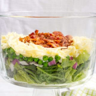 Healthier 7 layer salad