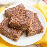 Healthier no-bake cookie bars