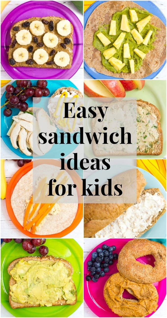 healthy school lunch ideas 20 sandwich spreads family food on