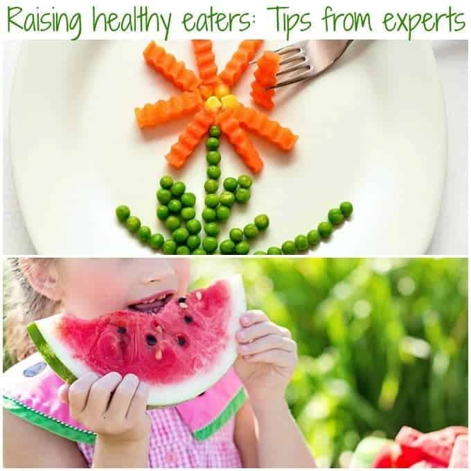 Raising healthy eaters: Tips and strategies from the experts on encouraging heathy eating for kids