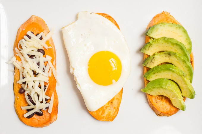 Sweet potato toast -- a quick and healthy breakfast! Includes a how-to, trouble shooting tips, and lots of sweet and savory topping ideas
