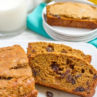 This easy whole wheat cinnamon raisin bread recipe requires no yeast, no kneading, no bread machine. It's lightened up, naturally sweetened, soft and so delicious!