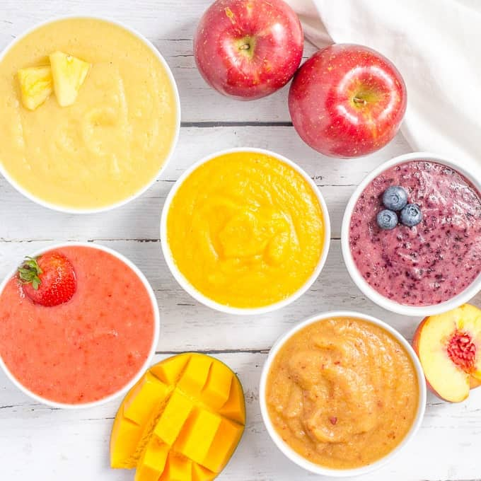 Apple Baby Food Combinations