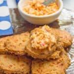 Easy pimiento cheese crackers