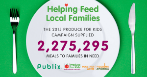 Produce for Kids Publix campaign
