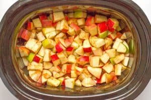 Slow cooker apple butter (no sugar)