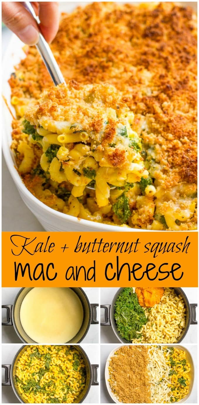 Kale and butternut squash mac and cheese - Family Food on ...