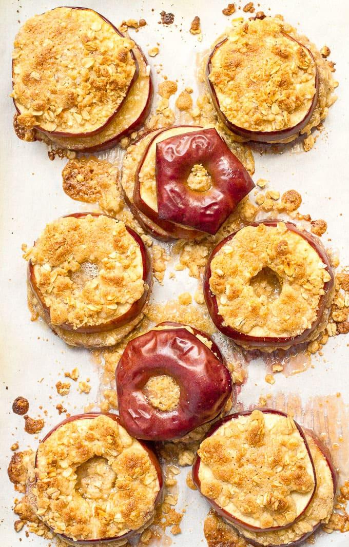 Easy healthy apple crisp recipe