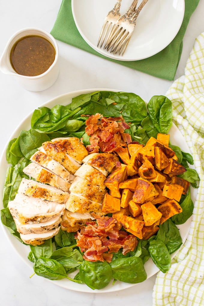 Chicken and sweet potato baby food