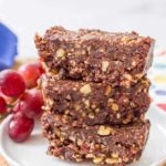 5-ingredient raw date brownies