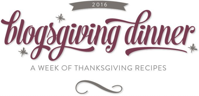 Blogsgiving - tons of Thanksgiving recipes, from appetizers and drinks to mains, side dishes and desserts!