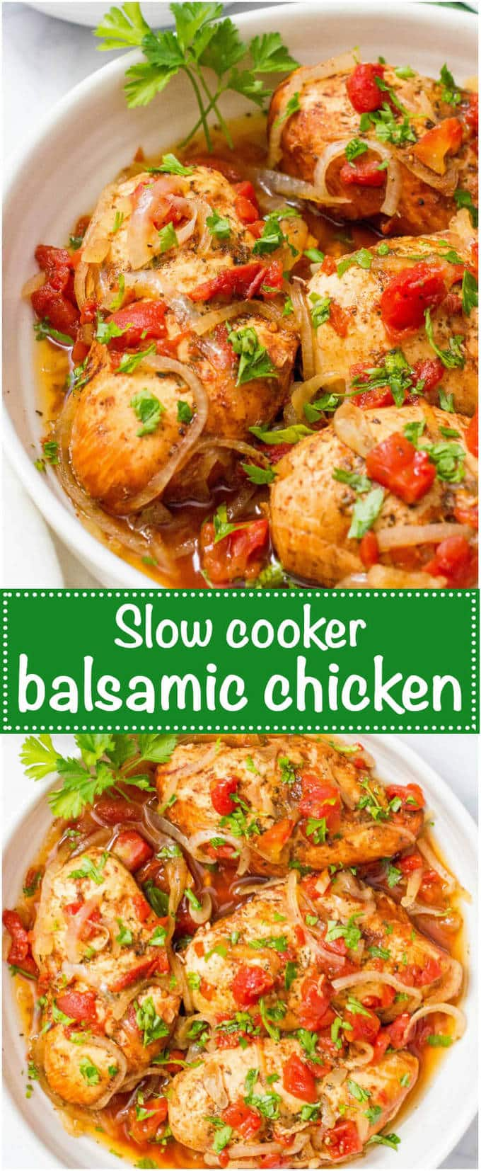 Slow Cooker Balsamic Chicken Family Food On The Table
