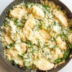 Easy chicken Florentine (+ video)