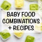 Homemade baby food combinations and recipes - our favorite foods for older babies and toddlers!