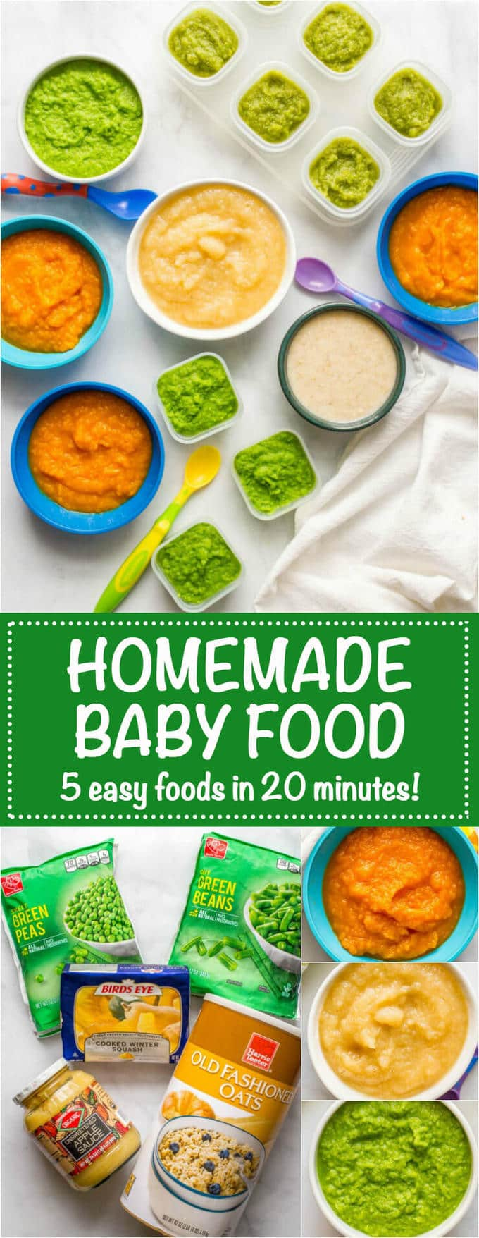 Squash in baby food