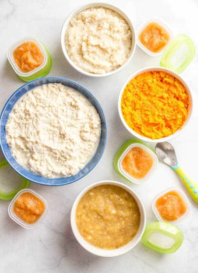 Homemade baby food sweet potatoes brown rice chicken pears and homemade baby food sweet potatoes brown rice chicken pears and banana forumfinder Image collections