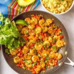 Quick + easy Mexican shrimp skillet (+ video)