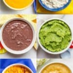 Homemade baby food combinations