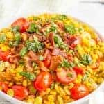 Easy Southern summer succotash