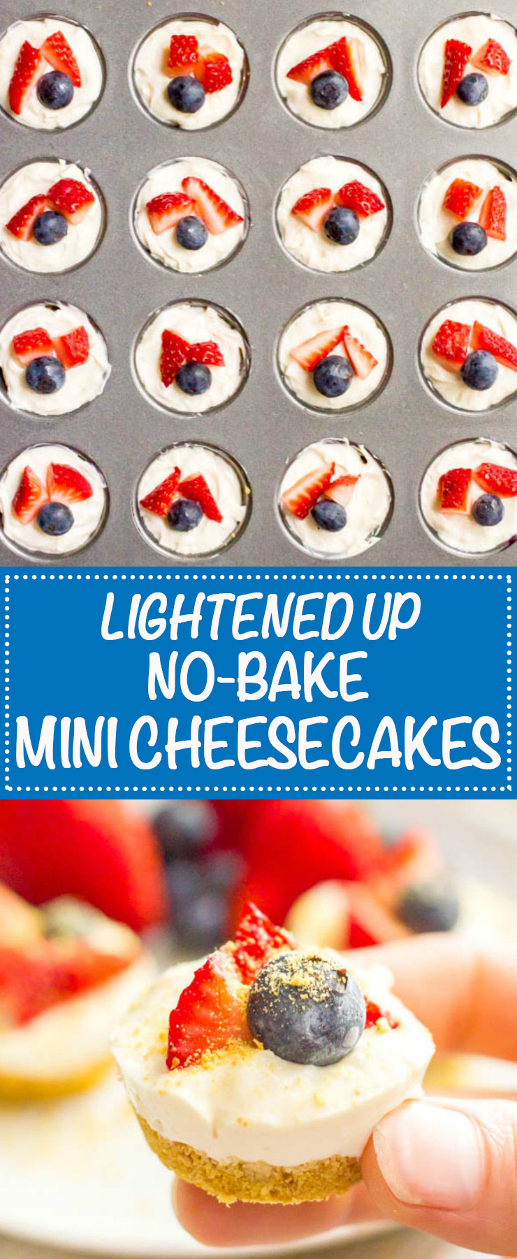 Healthy no bake mini cheesecake bites