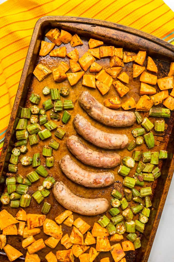 how to cook turkey sausage in a pan