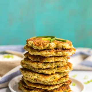 Whole wheat veggie pancakes