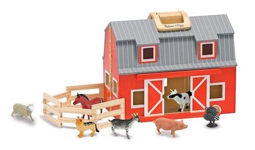 Fold-n-Go Wooden Barn