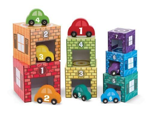 Melissa & Doug garage nesting and sorting set