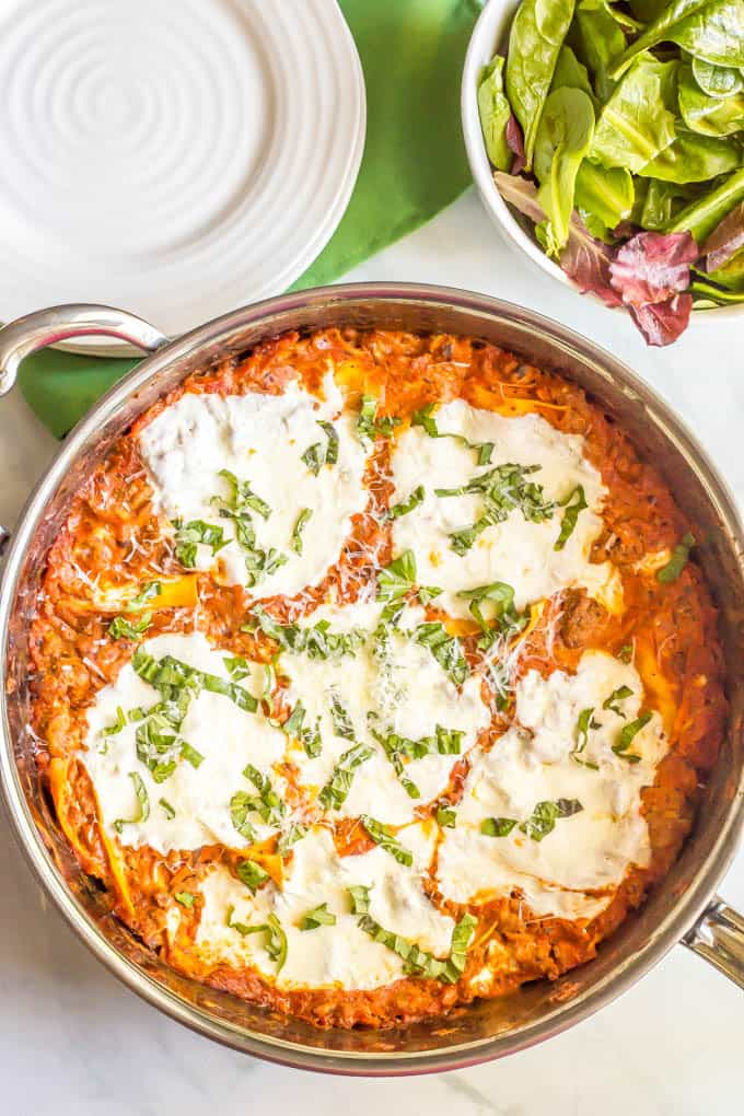 Easy Healthy One Pot Lasagna Is A Great Way To Get Homemade Served