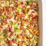 New Year's Day black-eyed pea casserole