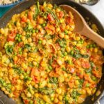 Quick and easy vegetarian curry {15 minutes}