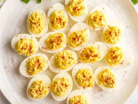 Mom S Classic Southern Deviled Eggs Video Family Food On The Table