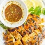 Balsamic herb grilled chicken marinade