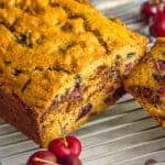 Whole wheat cherry chocolate chip bread