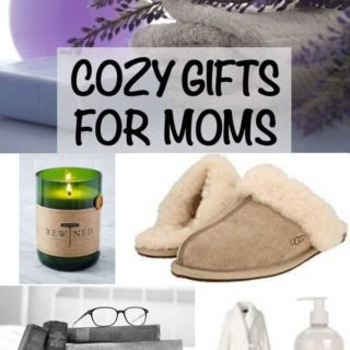 Check out these 10 fun and cozy gifts for moms that will make her feel loved and appreciated and maybe a bit pampered too! This gift guide is full of great ideas for Mother's Day, the holidays and birthdays! #giftguide #MothersDay #Christmasgifts #birthdaygifts #giftsformom