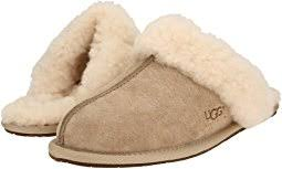 Pair of tan Ugg slippers for women
