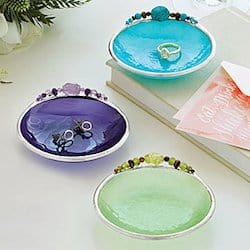 Birth month mini dishes in assorted colors