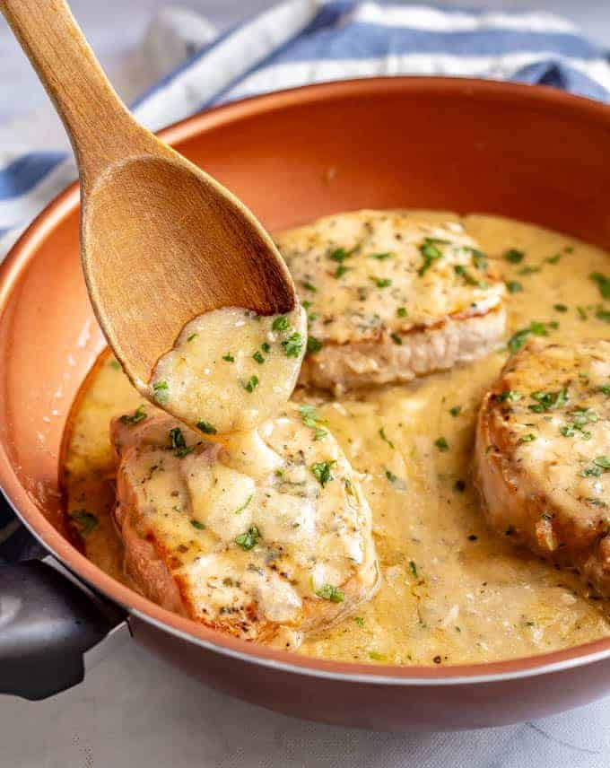 Easy Skillet Pork Chops With Gravy Family Food On The Table